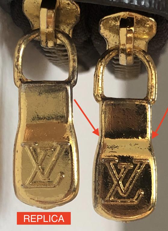 Vintage zipper guide