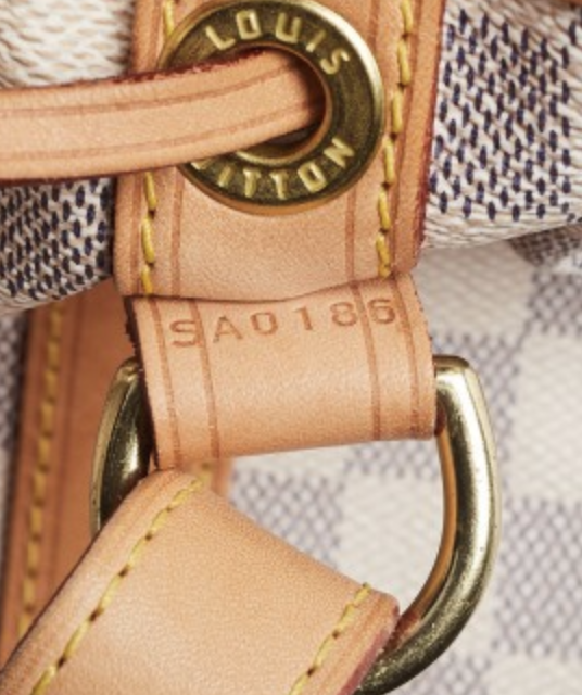 Where to find a date code on louis vuitton